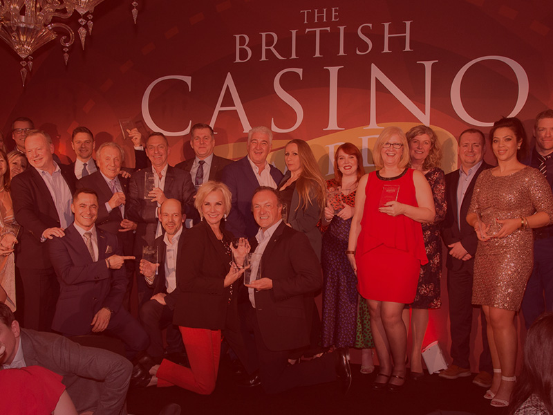 Honouring the gaming industry's best at  the third annual British Casino Awards